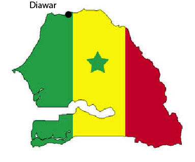 Situation de Diawar au Sénégal